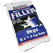BAR52710018 - Bartoline Multi Purpose Filler Powder 9kg Sack (6 x 1.5kg)