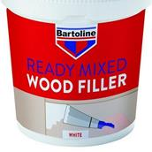 BAR52720230 - Bartoline Wood Filler White Tub 500g