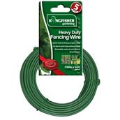 Kingfisher (GSW101) Heavy Duty 3mm Fence Wire Green