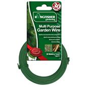 Kingfisher (GSW102) 1mm Multi Purpose Garden Wire Green