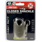 DEKDT70163 - Dekton DT70163 40mm Closed Shackle Padlock