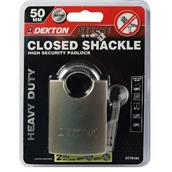 DEKDT70164 - Dekton DT70164 50mm Closed Shackle Padlock