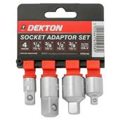DEKDT85190 - Dekton DT85190 4pc Socket Adapter Set