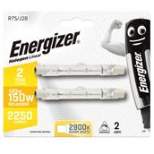 Energizer S5160 Eco Halogen Linear Bulbs 120W Warm White Pack-2