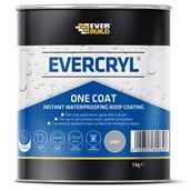 EVEEVCGY01 - Everbuild Evercryl One Coat Grey 1kg