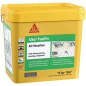 EVESKFFIXSTN16 - Everbuild Fastfix Stone 15kg Paving Jointing Compound All Weather