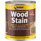 EVEWSTAINSMAH02 - Everbuild Woodstain Satin Mahogany 250ml