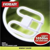 Eveready S710 2D Low Energy Lamp 16W 2 Pin