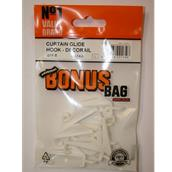 HNHBB14A - Bonus Bag BB14A Curtain Glide Hook Decorail Pack-8