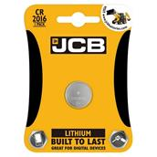 JCBS5345 - JCB S5345 Lithium Coin Cell Battery CR2016 Card-1