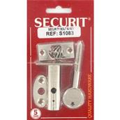 MPSS1083 - Securit S1083 Security Bolt and Key Nickel Plated