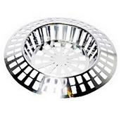 MPSS6821 - Securit S6821 Chrome Sink Strainer 38mm