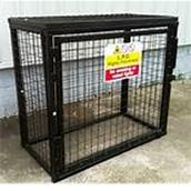 ROONGC05 - Gas Cylinder Cage (Accepts 3 x 19kg)