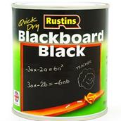 RUSBLAB100 - Rustins Blackboard Paint Black 100ml