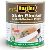 RUSSBMP250 - Rustins Quick Dry Stain Blocker and Multi Surface Primer 250ml