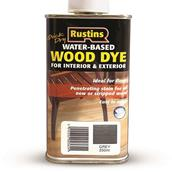 RUSWDGY250 - Rustins Quick Dry Wood Dye Grey 250ml