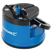 Silverline (270466) Knife Sharpener with Suction Base 60 x 65 x 60mm