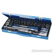 Silverline (282384) Socket Wrench Set 1/2