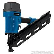 Silverline (282400) Air Framing Nailer 90mm 10 - 12 Gauge