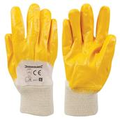 Silverline (282475) Open Back Interlock Nitrile Gloves L 10