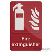 Fixman (297918) Fire Extinguisher Sign 200 x 300mm Self-Adhesive