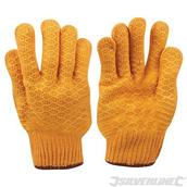 Silverline (349760) Yellow Gripper Gloves L 10