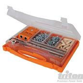 Triton (425553) Double Mini Pocket-Hole Jig Set 8pce T2PHJS