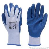 Silverline (427550) Latex Builders Gloves L 10