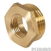 Plumbob (498166) Brass Hexagon Bush 1