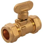 Plumbob (499477) Gas Isolating Valve 15mm