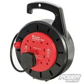 PowerMaster (619747) Cassette Cable Reel 230V 4-Gang 10m