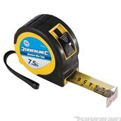 Silverline (633464) Measure Max Tape 7.5m / 25ft x 25mm
