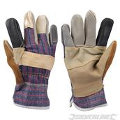 Silverline (633603) Furniture Rigger Gloves Large