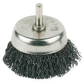 Silverline (PB03) Rotary Steel Wire Cup Brush 50mm