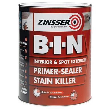 TORZN7020001E1 - Zinsser B-I-N Primer, Sealer, Stain Killer Paint 500ml